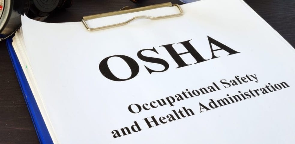 OSHA Complaints for Bed Bugs